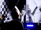 Depeche Mode - A Question of Time (фрагмент выступления, Вильнюс, 27/07/2013)