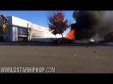 видеозапись с места аварии пола уокера